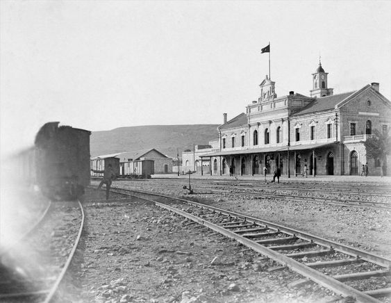 Railway station of the Hejaz railway in Haifa